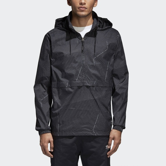 2b2260bbae10 adidas Black NMD Windbreaker Men s